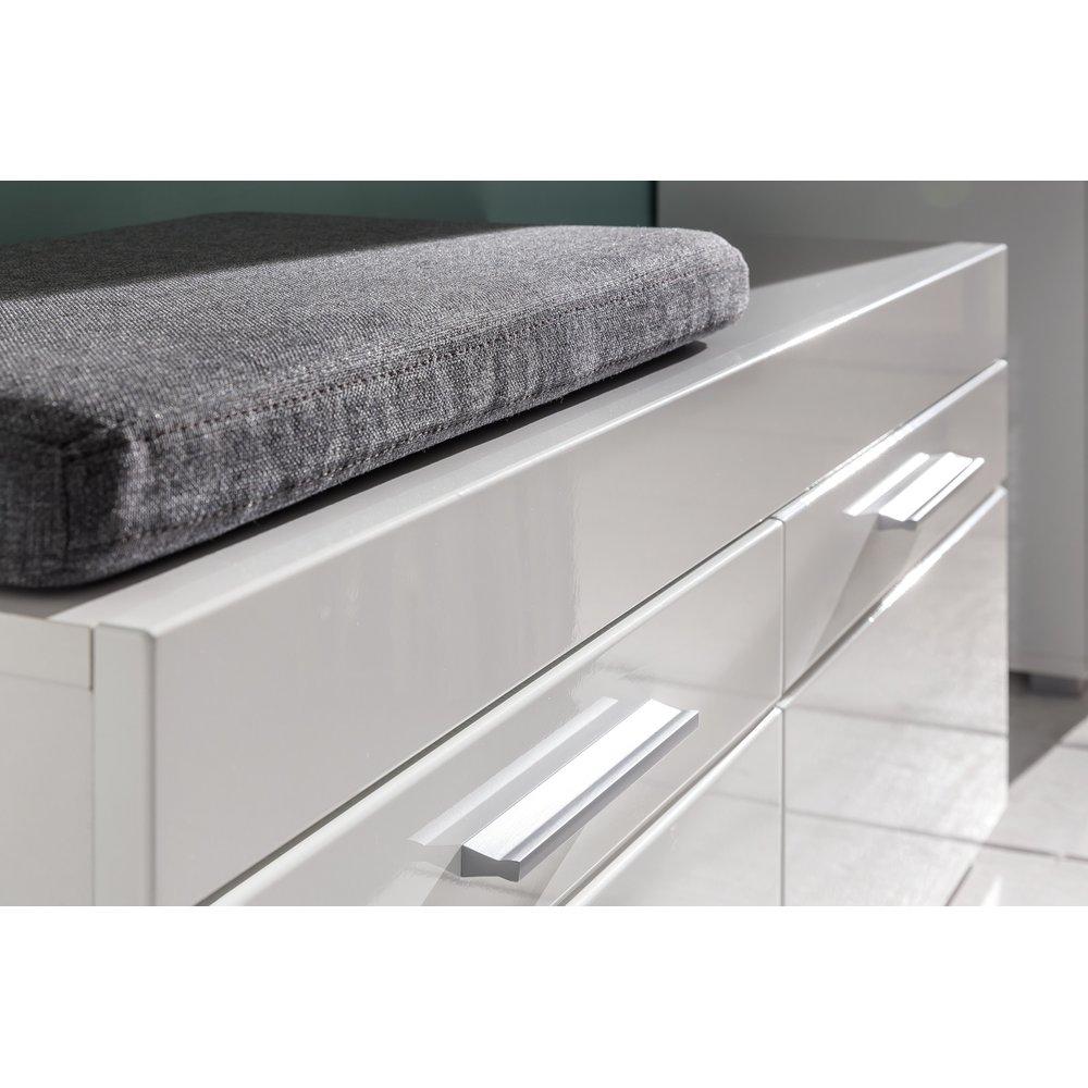 garderobenschrank amanda wei hochglanz 229 95. Black Bedroom Furniture Sets. Home Design Ideas