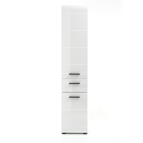 hochschrank skin gloss hochglanz weiss 139 99. Black Bedroom Furniture Sets. Home Design Ideas