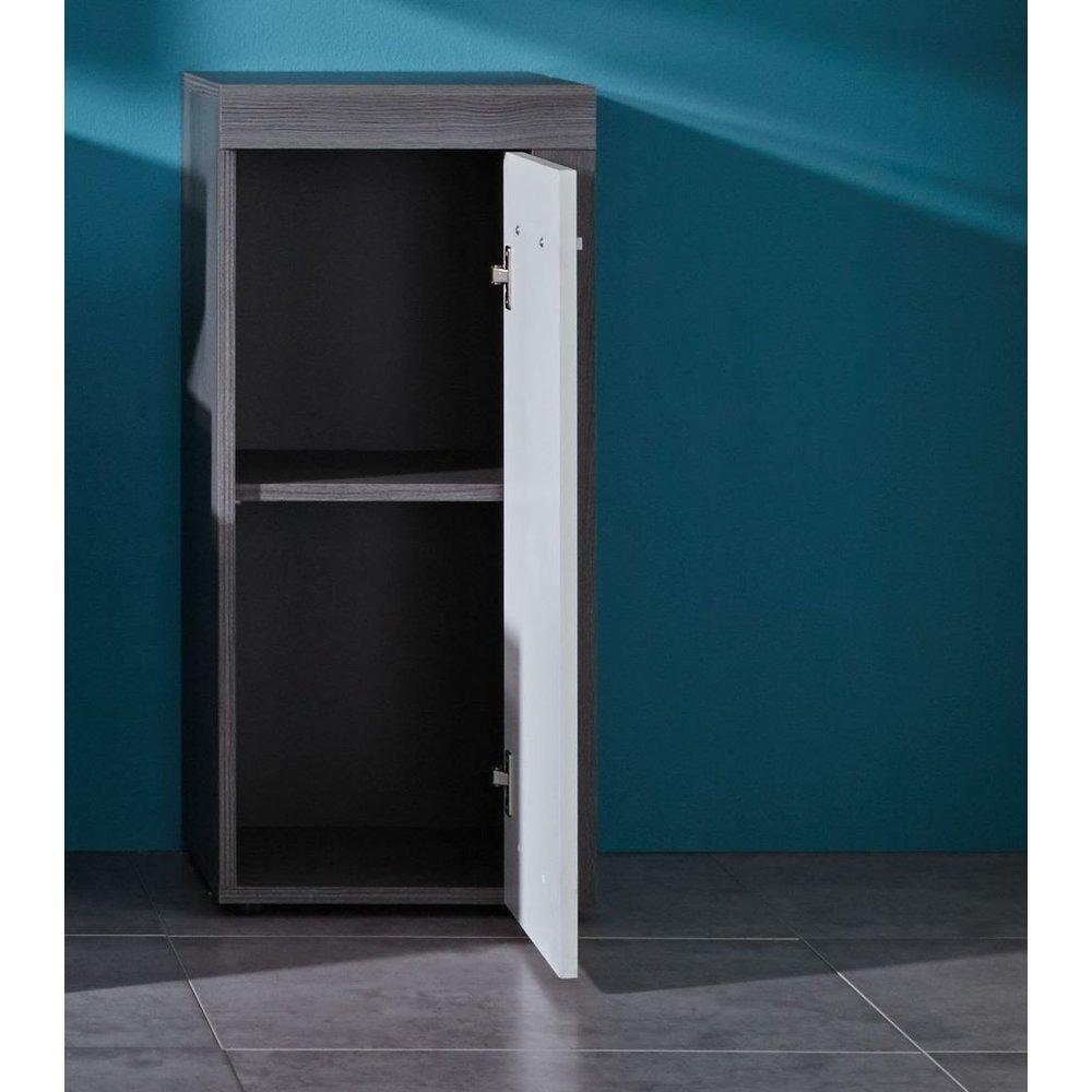 bad kommode miami maine wei rauchsilber 57 99. Black Bedroom Furniture Sets. Home Design Ideas