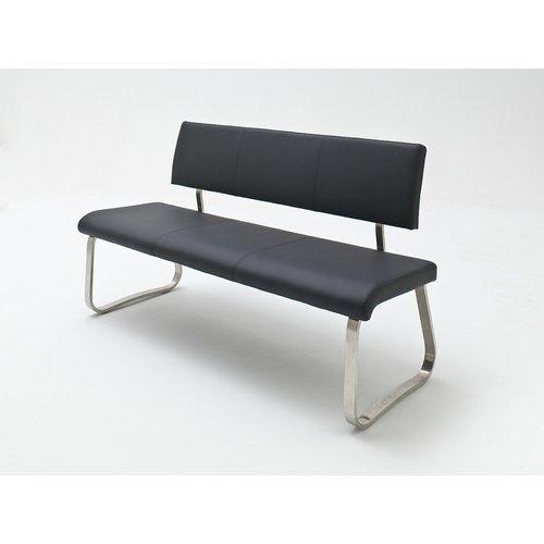 Sitzbank Kunstleder Arco Bank Kunstleder 2 mit Lehne schwarz, € 319,99