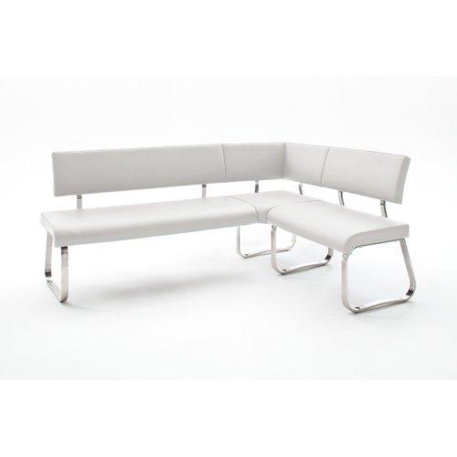 Sitzbank Arco Eckbank Kunstleder 200 X 150 Cm Weiß 71199