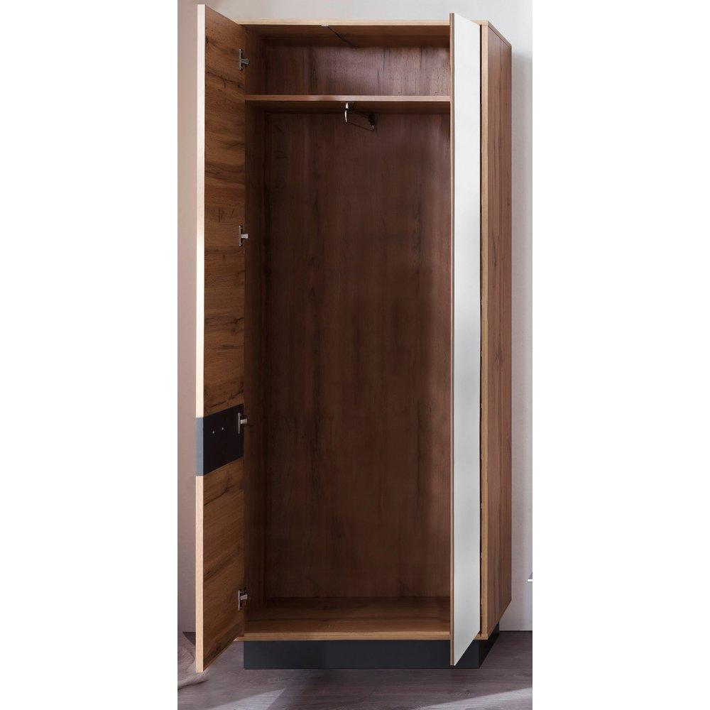 Garderoben Kombination In Wotan Eiche Mit Grau Coast 4 Teiliges