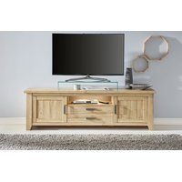 TV-Unterteil in Alteiche Lowboard Eiche 189 x 58 cm Canyon