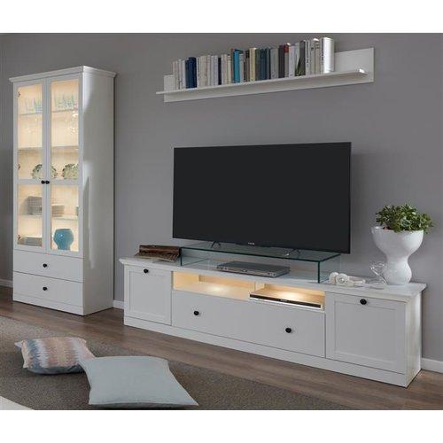 Tv Unterteil Landhaus Weiss Tv Lowboard 177 Cm Bxter 214 44