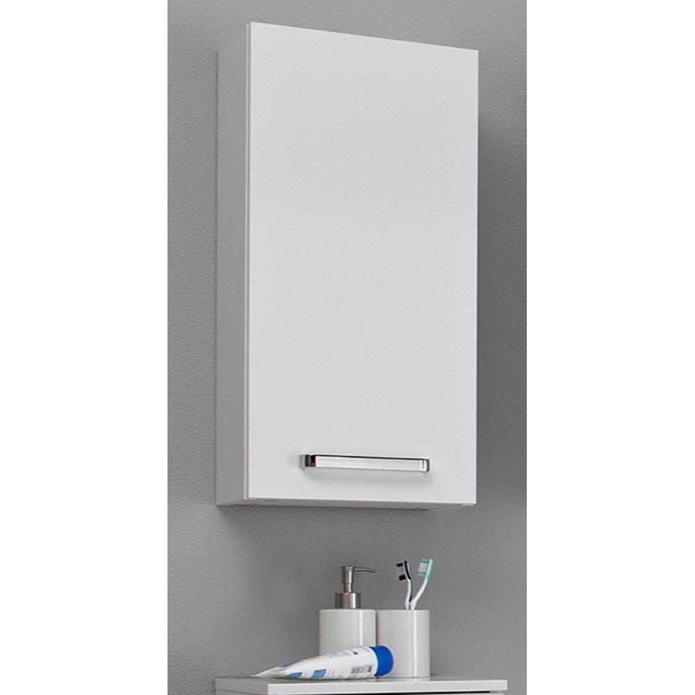 Badezimmer Hängeschrank in weiß Glanz Wiesbaden 30 x 70 cm Badschrank