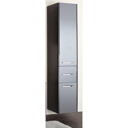 Badezimmer Hochschrank Anthrazit Hochglanz Velo 30 X 185 5 Cm