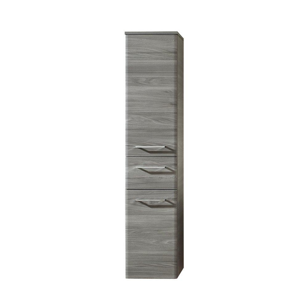 Badezimmer Midischrank In Sangallo Grau Quer Peter 30 X 142 Cm
