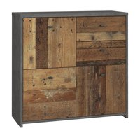 Kommode Anrichte Best Chest in Old Used Wood Shabby mit...